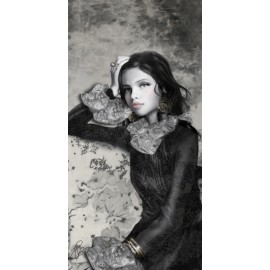 Carte d'art Valie Le Boeuf Isabelle