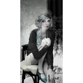 Carte d'art Valie Le Boeuf Jade