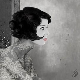 Carte postale Valie Le Boeuf Emma