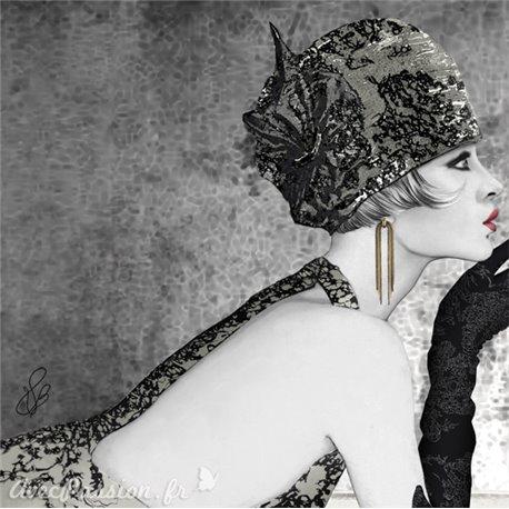 carte d 39 art encadrement carte postale valie le boeuf ange. Black Bedroom Furniture Sets. Home Design Ideas