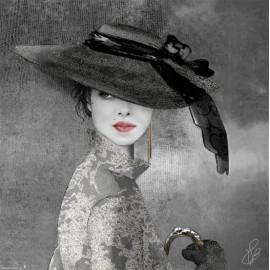 Carte postale Valie Le Boeuf Louise