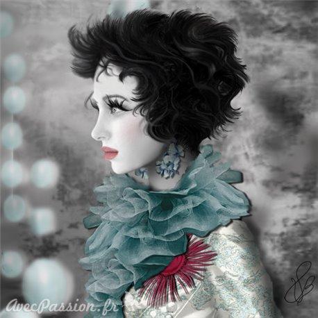 Carte postale Valie Le Boeuf Lilly