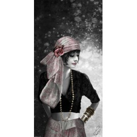 Carte d'art Valie Le Boeuf Sarah