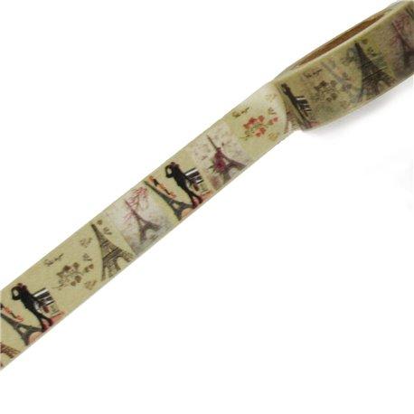 Masking tape la tour eiffel ruban papier adhésif washi