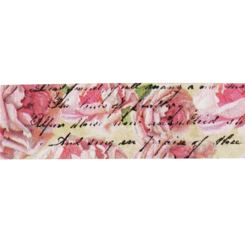 masking tape shabby chic roses anciennes ruban papier adh sif washi pas cher. Black Bedroom Furniture Sets. Home Design Ideas