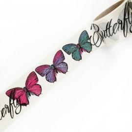 Masking tape papillons ruban papier adhésif washi