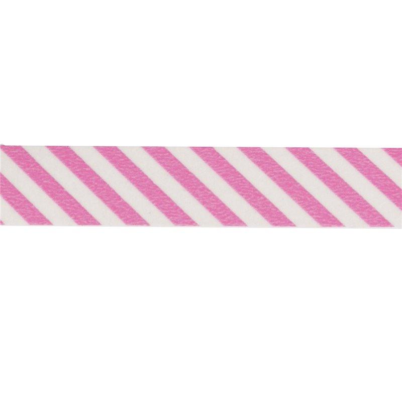 masking tape ray rose blanc ruban papier adh sif washi pas cher. Black Bedroom Furniture Sets. Home Design Ideas