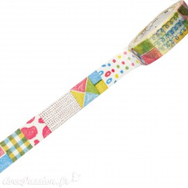 Masking tape dessin au crayon ruban papier adhésif washi
