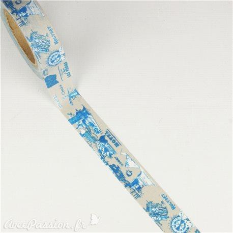 Masking tape voyage ruban papier adhésif washi