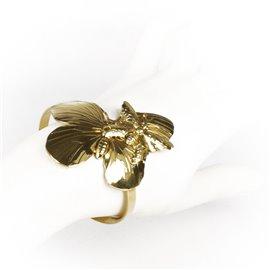 Manchette doré Lotta Djossou papillons