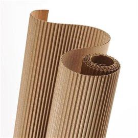 Papier carton ondulé couleur naturel