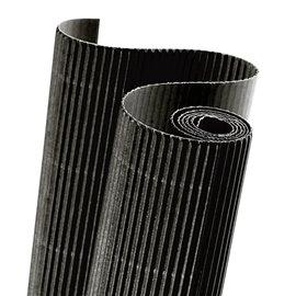 Papier carton ondulé couleur noir