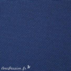 Papier uni picot bleu