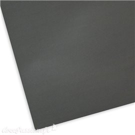 Papier uni picot gris anthracite