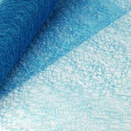 Tissu non tissé Vlies Creapop craquelé turquoise -