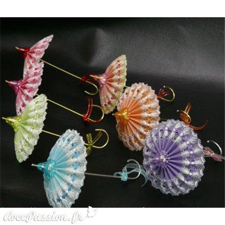 Matériel pour ombrelle du livre Brillant Parchment Craft Amanda Yeh