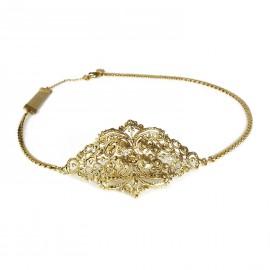 Bijou de tête doré Headband bijou cheveux