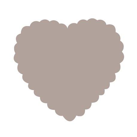 Perforatrice géante coeur festonné Artemio 4.5x4cm