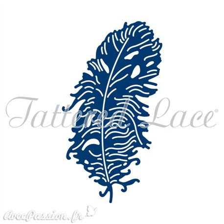 Dies découpe gaufrage plume Tattered Lace