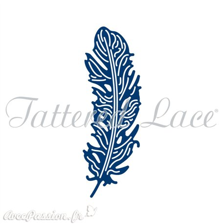 Dies découpe gaufrage plume opulante Tattered Lace