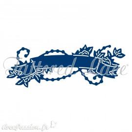 Dies découpe gaufrage matrice Tattered Lace étiquette décorative
