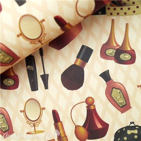 Papier italiens motifs maquillage