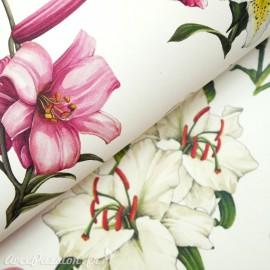 Papier tassotti motifs fleurs de lys