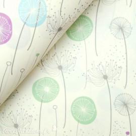 Papier tassotti motifs pissenlits sème au vent