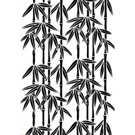 Classeur gaufrage fond bambous Elizabeth Craft Design