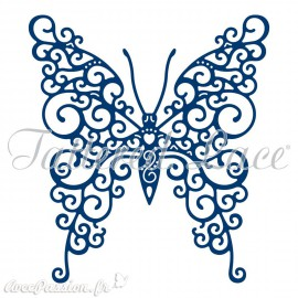 Dies découpe gaufrage papillon beautiful Tattered Lace