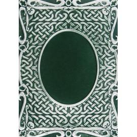 Plaque gaufrage embossage ovale Spellbinders