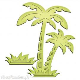 Dies découpe gaufrage palmier In'spire Spellbinders