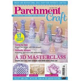 Parchment Craft magazine Pergamano juillet 2016 3D Masterclass