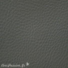 Papier simili cuir cezane pellana gris 53x70cm