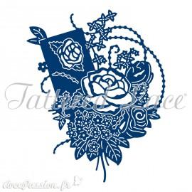 Dies découpe gaufrage bouquet de roses Tattered Lace