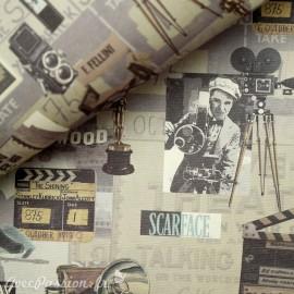 Papier italien motifs cinéma