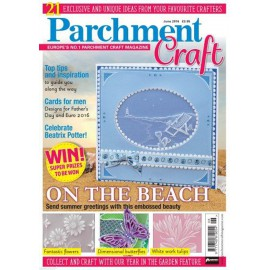 Parchment Craft magazine Pergamano juin 2016 On the Beach