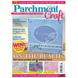 Parchment Craft magazine Pergamano juin 2016 On the Beach