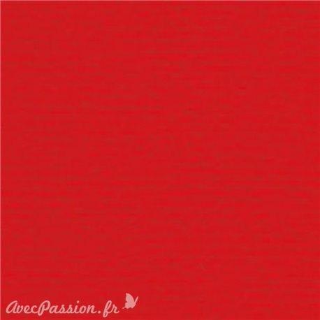 Papier pour carte et faire part rouge x6 200g