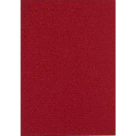 Papier pour carte et faire part bordeaux x6 200g