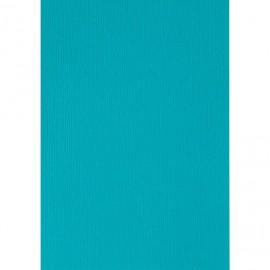 Papier pour carte et faire part bleu turquoise x6 200g