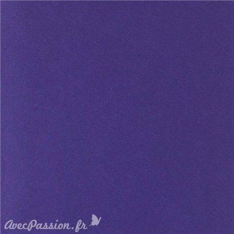 Papier pour carte et faire part violet x6 200g