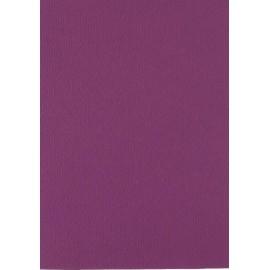 Papier pour carte et faire part aubergine x6 200g