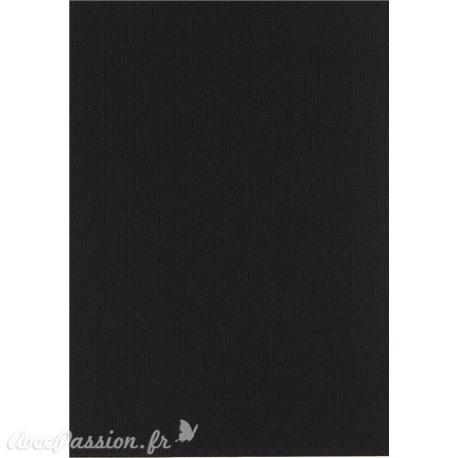 Papier pour carte et faire part noir x6 200g