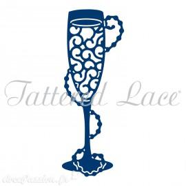 Dies découpe gaufrage coupe de champagne