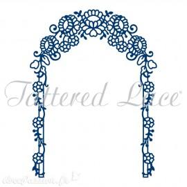 Dies découpe gaufrage matrice Tattered Lace arche florale