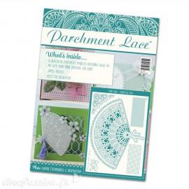 Parchment Lace magazine Pergamano 2015 magazine n°1