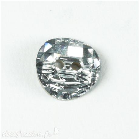 Bouton Swarovski cristal