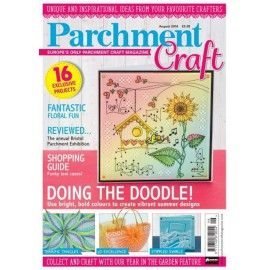 Parchment Craft magazine Pergamano aout 2016 Doing the Doodle !