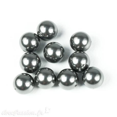 Perles de culture gris fonce